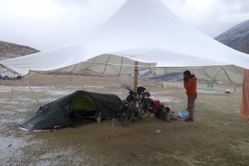 Double tente...