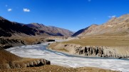 Inde, Ladakh : La plaine de Sarchu