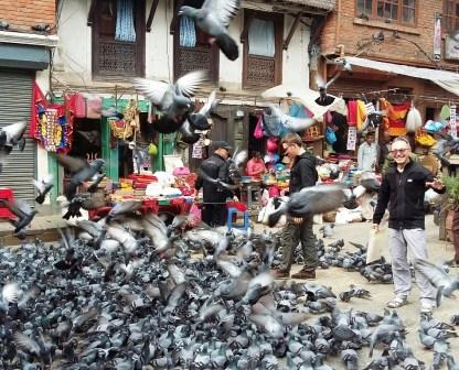 Le vieux Katmandou