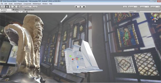 VA Samsung Digital Classroom Dubloon 3D Printing