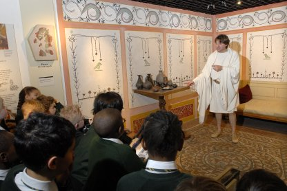 Drama museum education empire romans museum of london