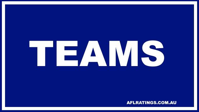 2021 Teams: Round 13