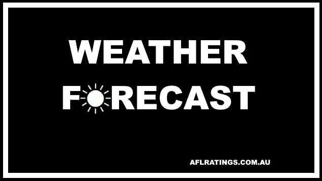 2021 AFL Weather Forecast: Round 23