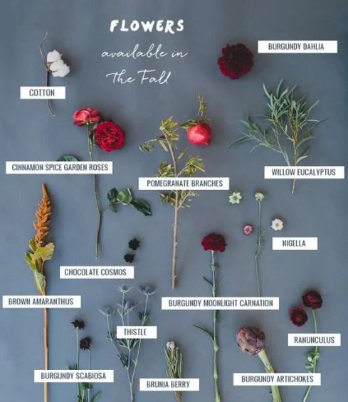 fiori d 'autunno per matrimonio