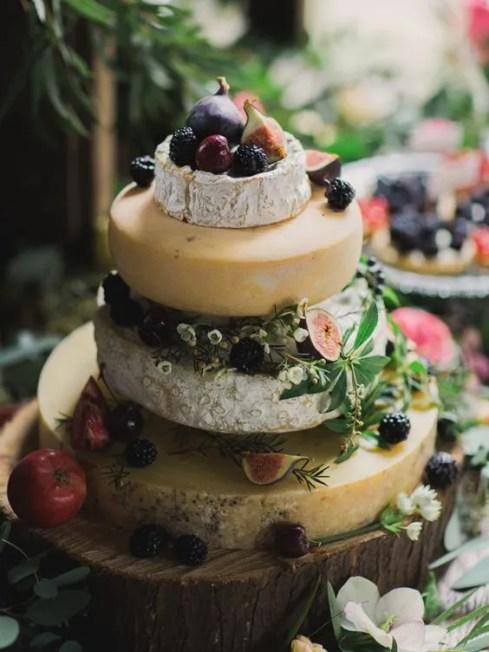 cheer cake originale con frutti dell'autunno