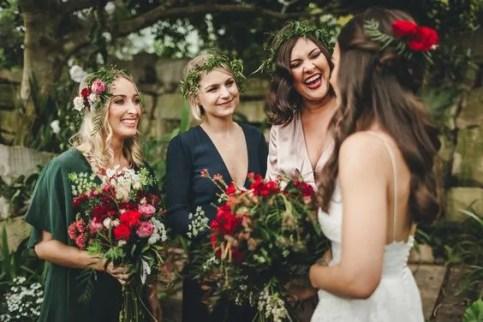 damigelle d'onore per la sposa
