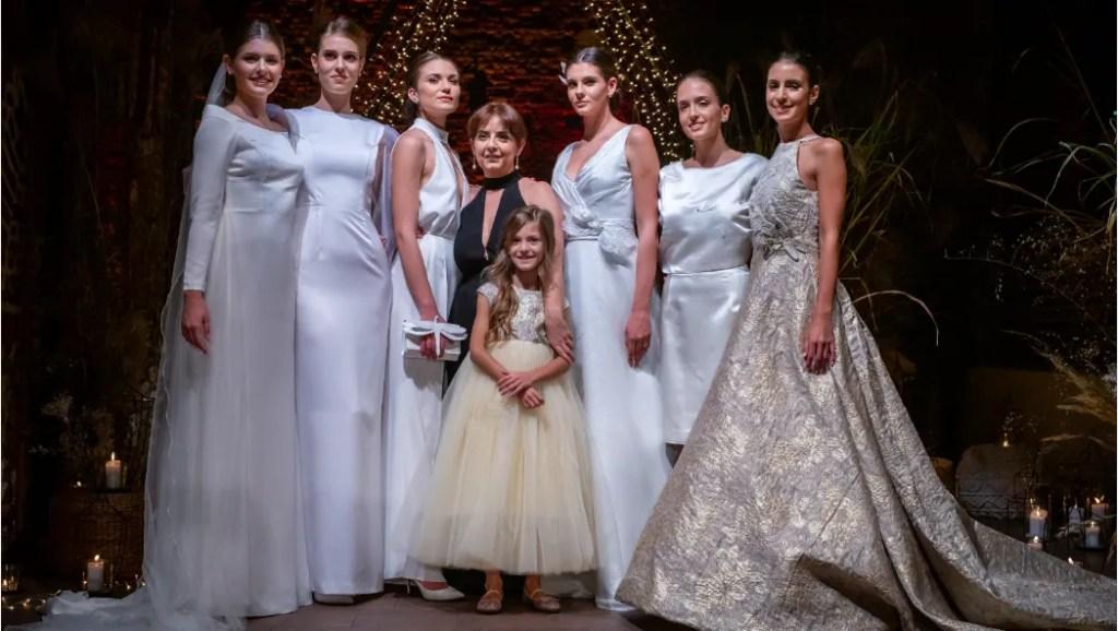Chiara Vitali sfilata abiti sposa 2020