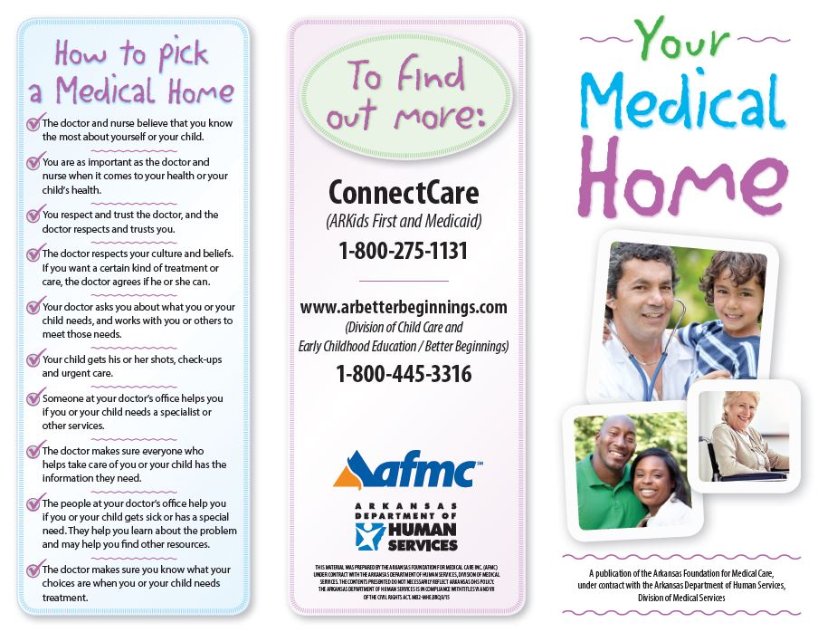 Your Medical Home Brochure English Download AFMC