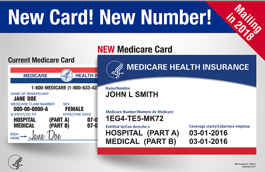 Youre Getting a New Medicare Card  AFMC