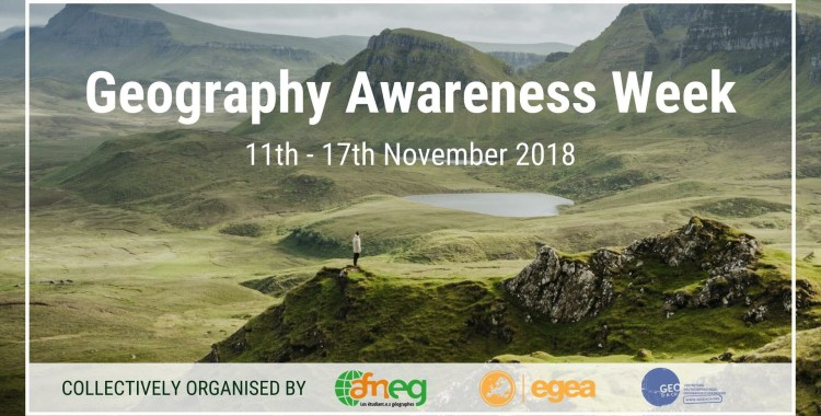 La Geography Awareness Week : faire rayonner la géographie à travers l'Europe