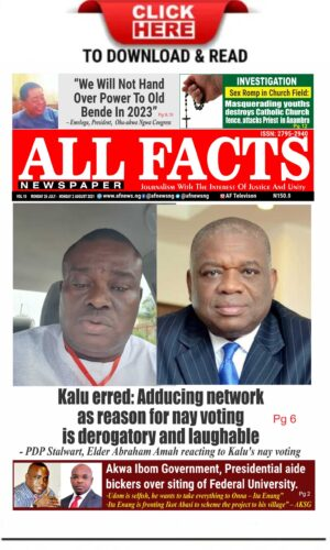 All facts newspaper VOLUME 19