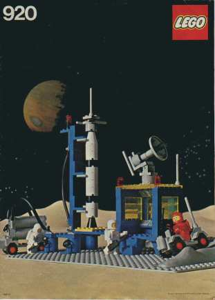 LEGO Space Series Set 920 from 1979.