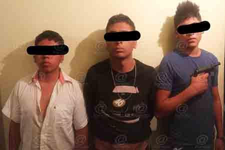 Uno de los detenidos ha sido detenido en otras dos ocasiones.