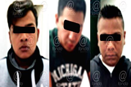 Los detenidos tenían en su poder cerca de 10 teléfonos celulares.