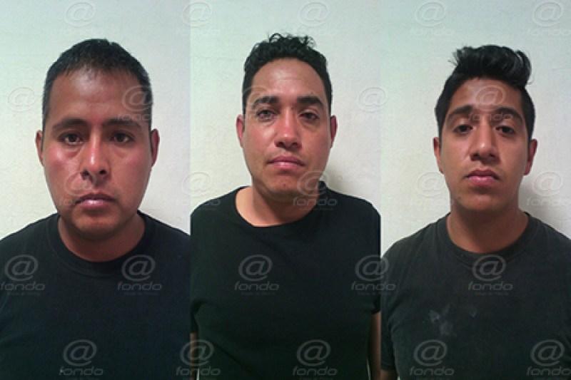 Los detenidos portaban armas cortas y largas.