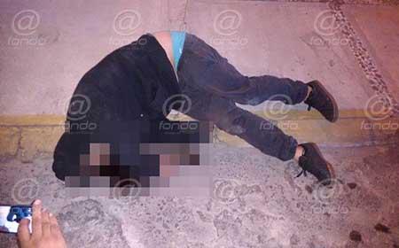 El asaltante murió minutos después de ingresarlo al hospital.