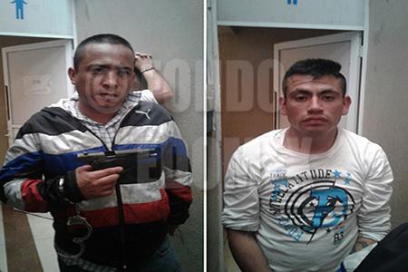 Los asaltantes fueron reconocidos por la víctima.