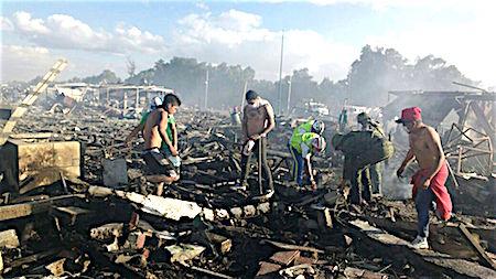 FOTOGALERÍA: Las impactantes imágenes de la tragedia en Tultepec