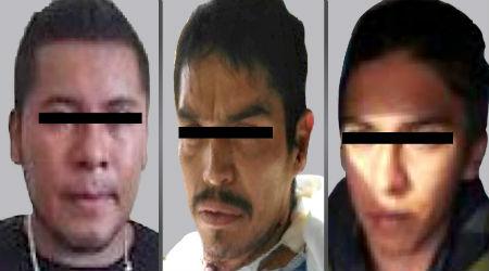 Los tres sujetos fueron detenidos en diferentes hechos.