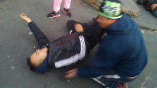 Los jóvenes heridos fueron atendidos y llevados a hospitales.