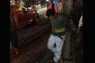 Casi linchan a un hombre por no pagar unas cervezas que se tomó en Valle de Bravo