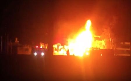 VIDEO: Explota una pipa de PEMEX en la carretera México-Toluca