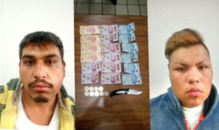 Los detenidos ya habían recibido el dinero.