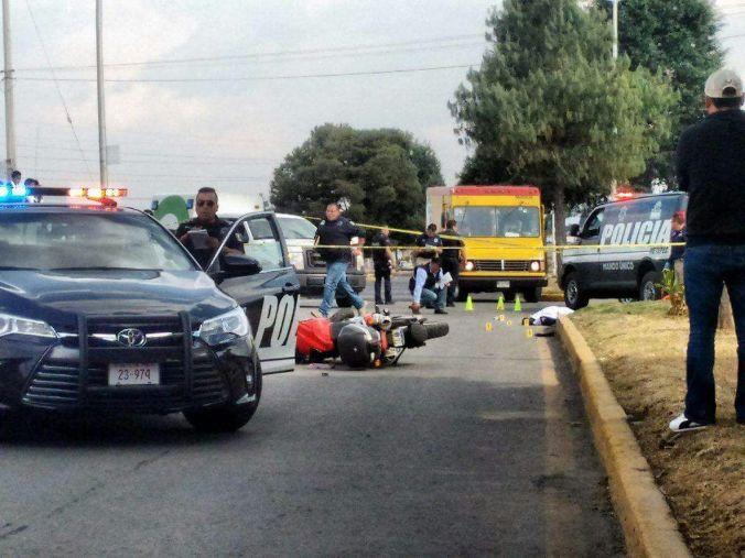 El conductor de la moto fue detenido por homicidio imprudencial.