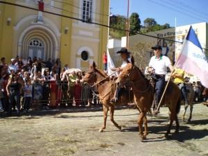 Tradicional desfile da Festa do Carro de Boi (Foto: Káledy Gomes/ Arquivo Pessoal)