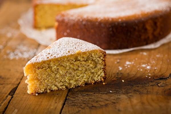 Lemon Almond Polenta Cake Gluten Free And Dairy