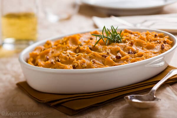 Mashed Sweet Potatoes with Rosemary A Food Centric Life