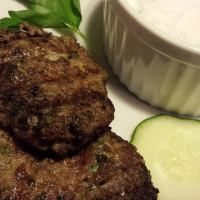 Grilled Lamb Meatballs