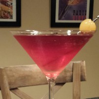 Pomegranate Pear Martini