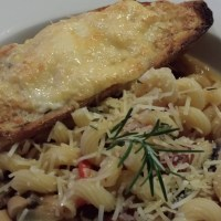 Sweet Basil Pesto Sausage Cavatappi