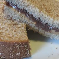 Peanut Butter Nutella Sandwich