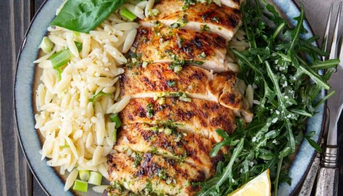 Pesto & Lemon Grilled Chicken