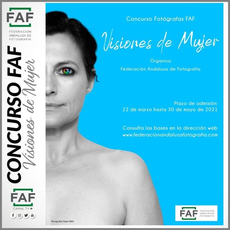 concurso de fotografía para las fotógrafas asociadas a la FAF