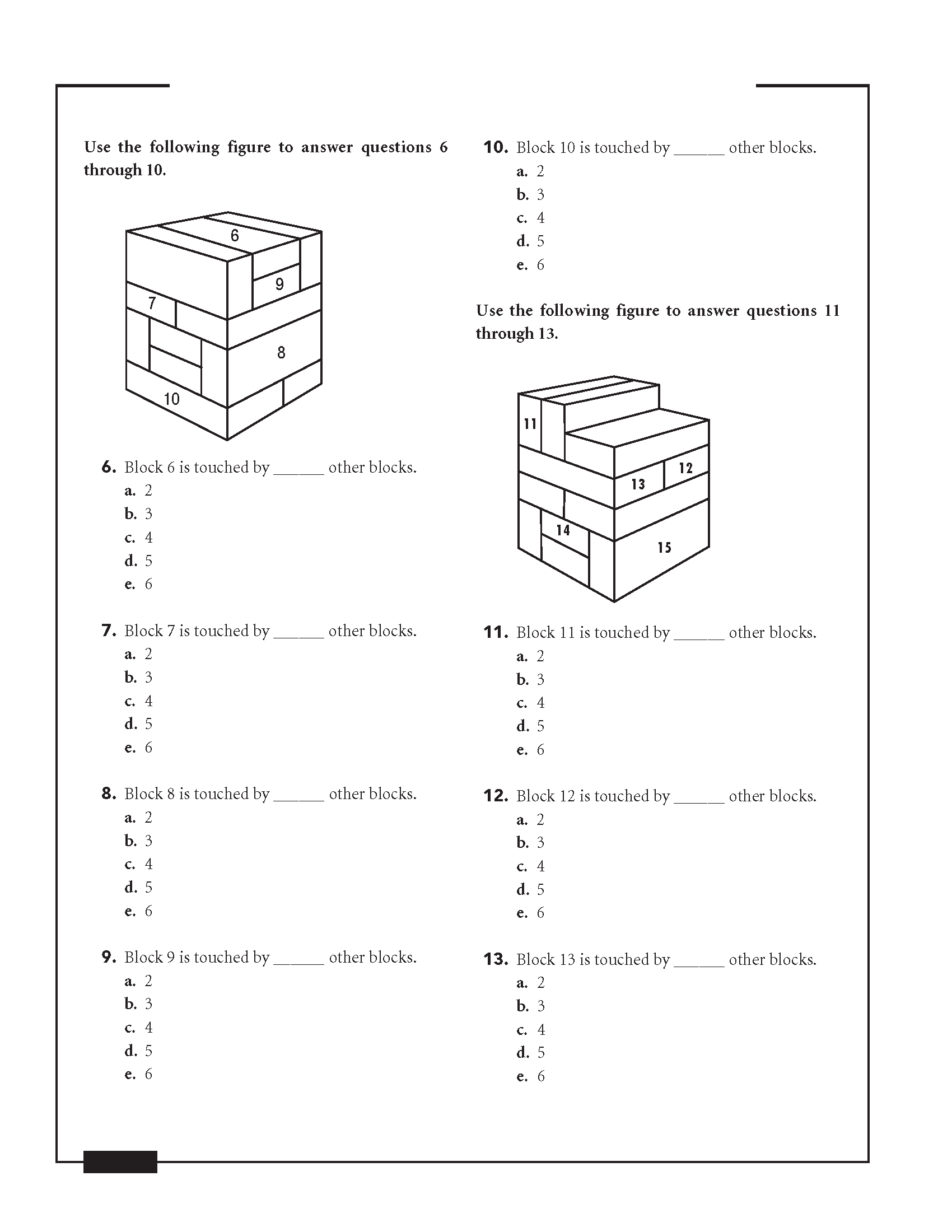Afoqt Block Counting Study Guide