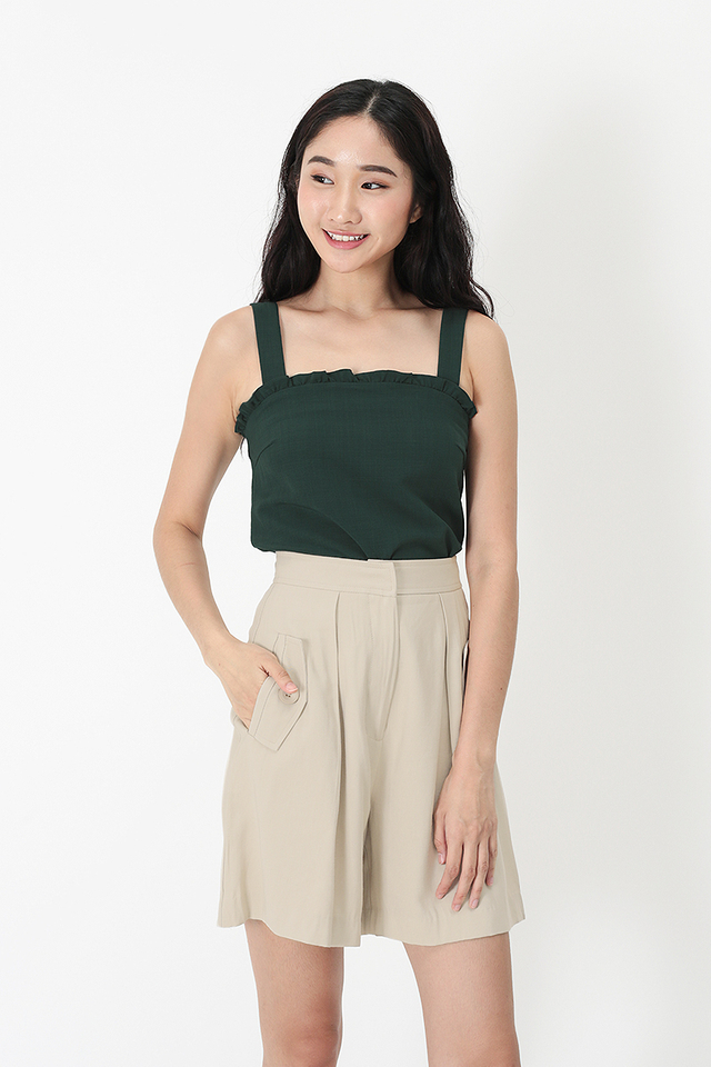 vicky crop top in