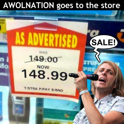 AWOLNATION SALE