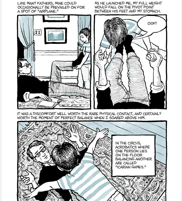 Graphic Novel Review: Fun Home by Alison Bechdel - A Forever