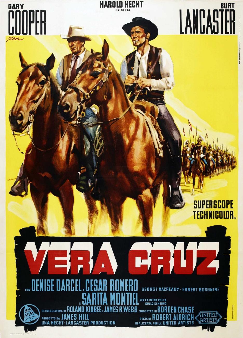 Risultati immagini per Vera Cruz locandina