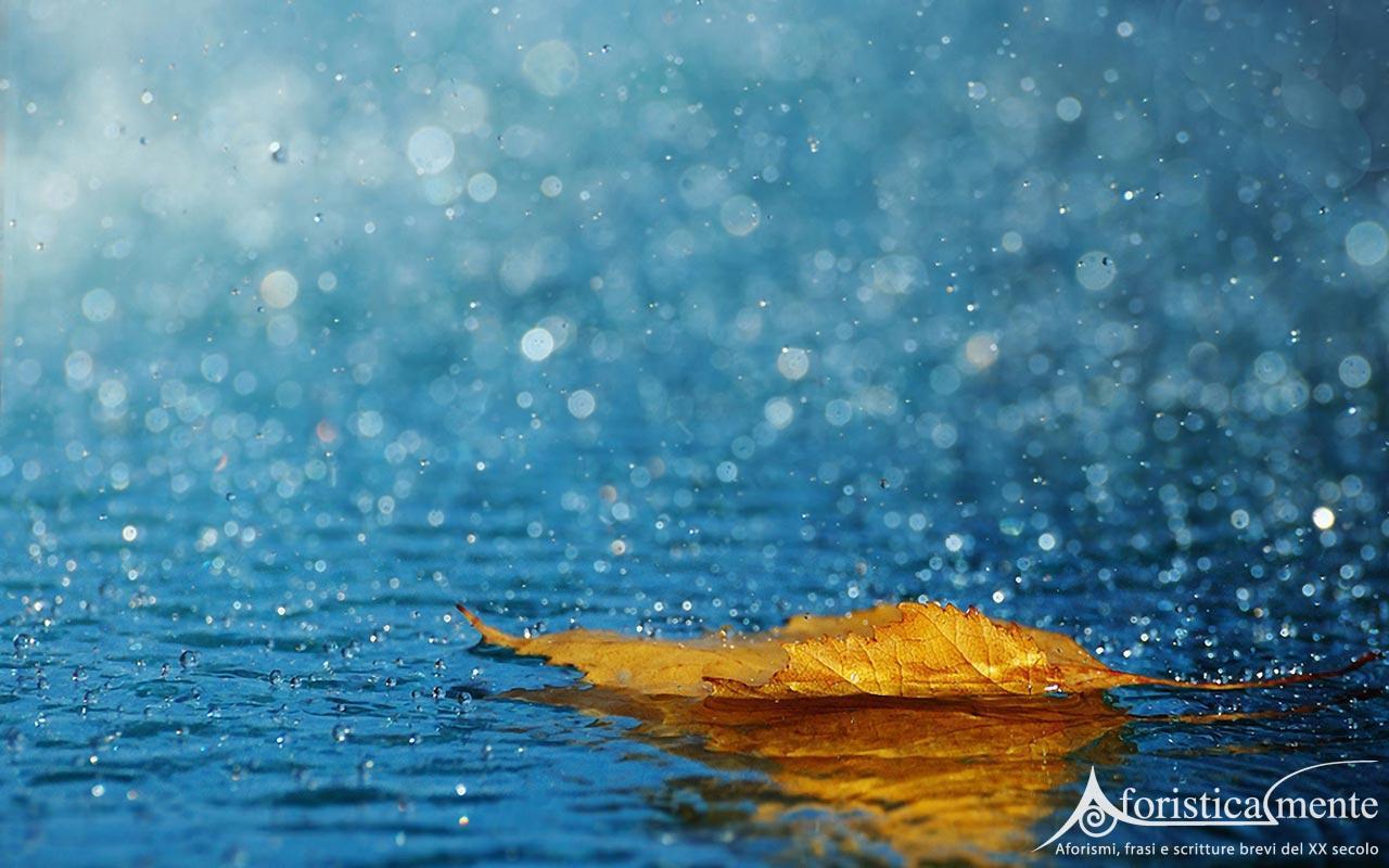 Frasi citazioni e aforismi sulla pioggia  Aforisticamente AFORISTICAMENTE