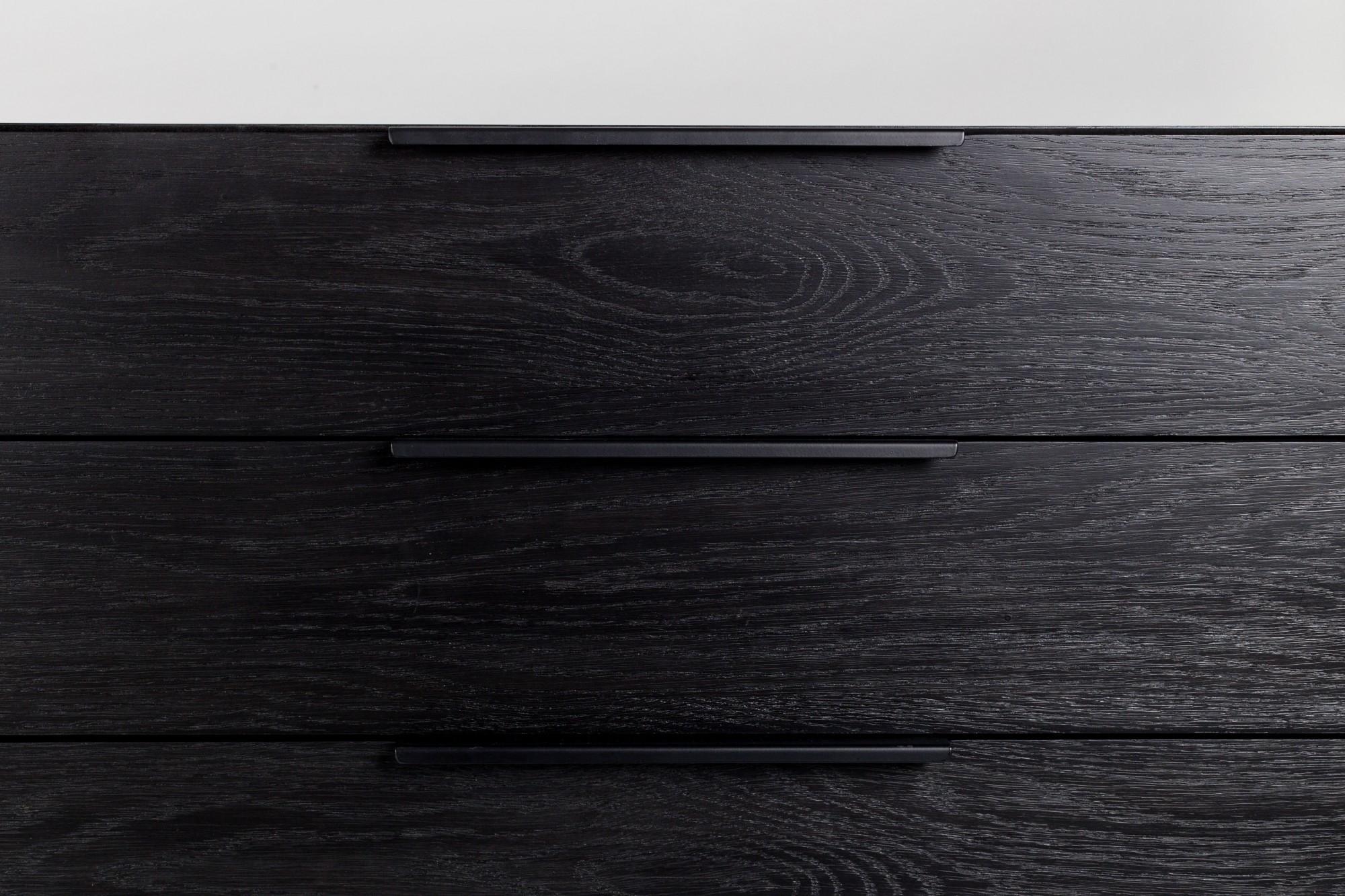 Dressoir Zwart Eiken.Zwart Eiken Scheffer Keukens Torontogl Eiken Zwart