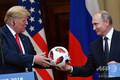 フィンランドのヘルシンキで会談したドナルド・トランプ米大統領(左)とウラジーミル・プーチン・ロシア大統領(2018年7月16日撮影、資料写真)。(c)AFP PHOTO / Yuri KADOBNOV