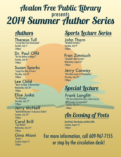 2014 Summer Author Series