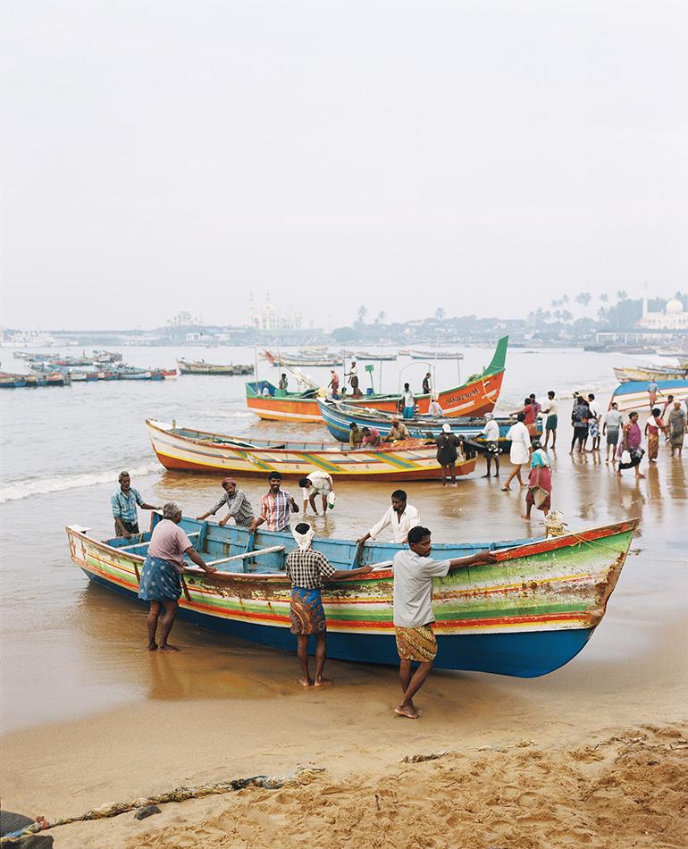 Vizhinjam Fishing Boat