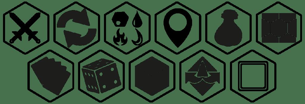 fractal symbols board game