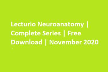 Lecturio Neuroanatomy Free download