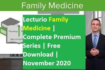 Lecturio's Family Medicine Complete Premium Series free download